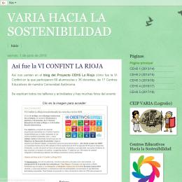 VARIA hacia la sostenibilidad