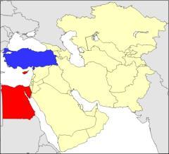 Países de Oriente Medio (JetPunk)