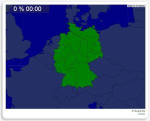 Alemanha: Estados de Federação. Seterra