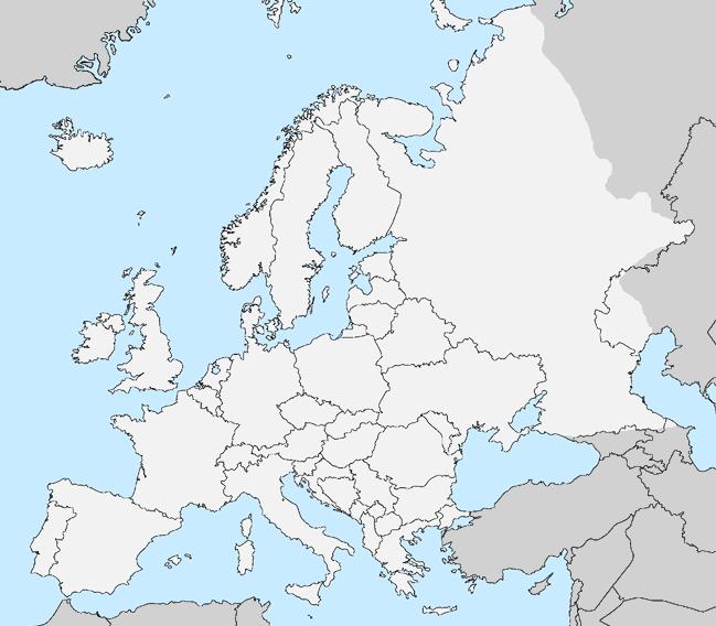 Lizard Point Europe Map.European Bodies Of Water Bodies Of Water Of Europe Easy Lizard