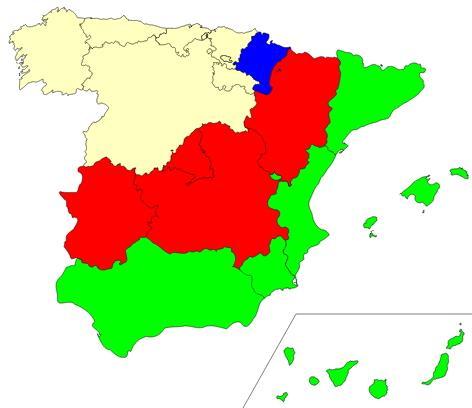 Regions of Spain  (JetPunk)
