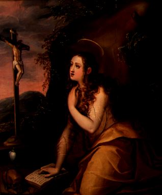 La Magdalena penitente