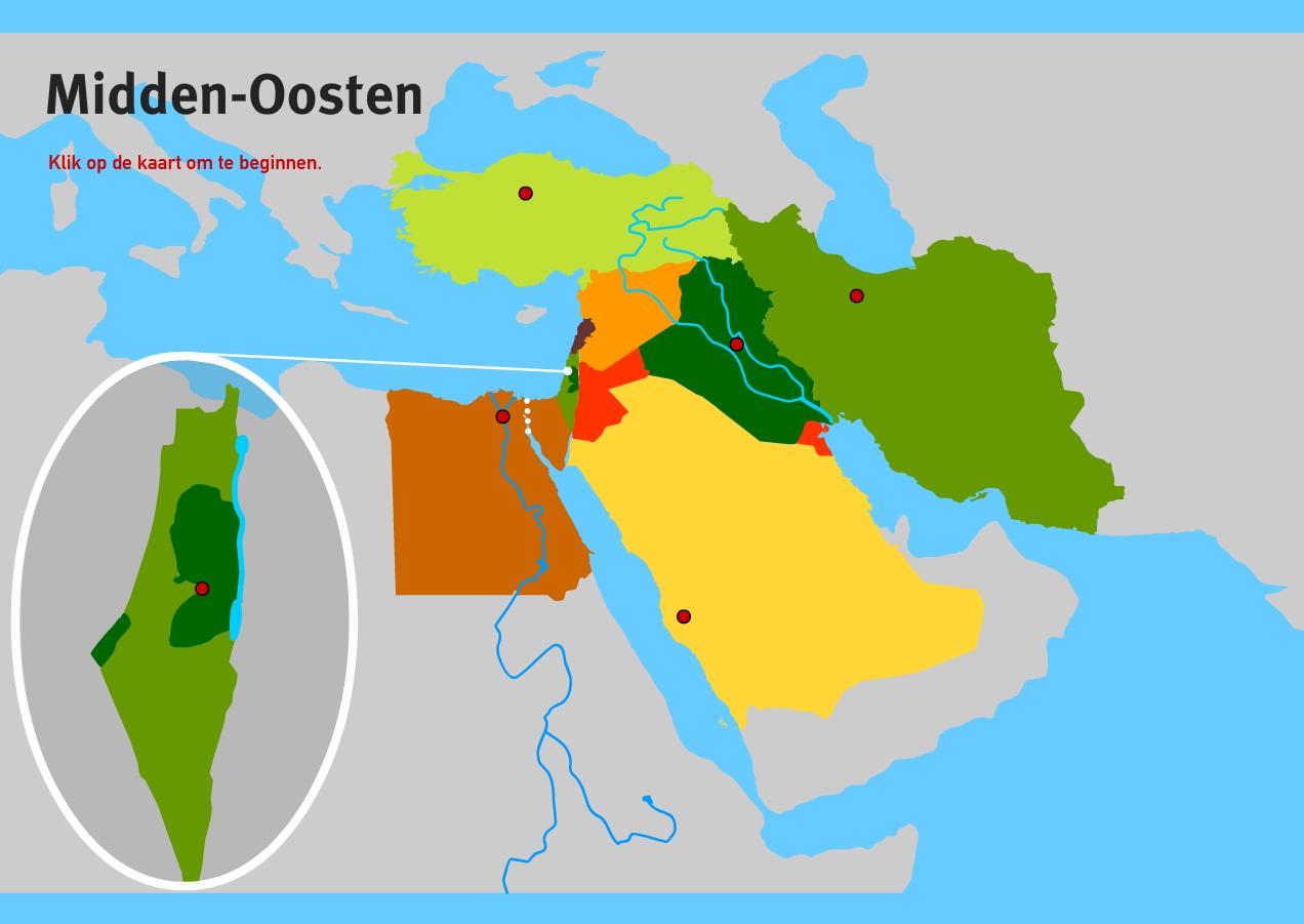 Midden-Oosten BB/KB. Topo VMBO