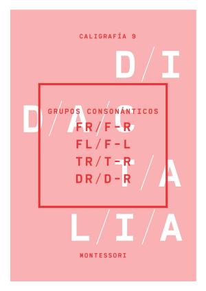 Grupos consonánticos (fr, f-r; fl f-l; tr, t-r; dr, d-r)