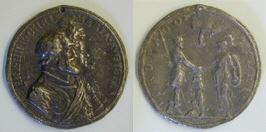 Enrique IV y María de Médici, reyes de Francia