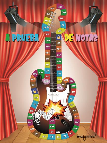 A PRUEBA DE NOTAS: Un Concurso Musical de TV en el aula de Música