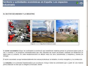 Territorio y actividades económicas en España: Los espacios industriales
