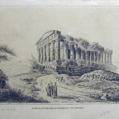 Templo de la Concordia en Agrigento, Sicilia (Italia)