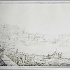 Vista de Nápoles (Italia)