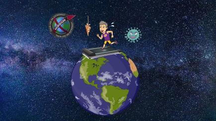 Astronautas y Robots vs Coronavirus