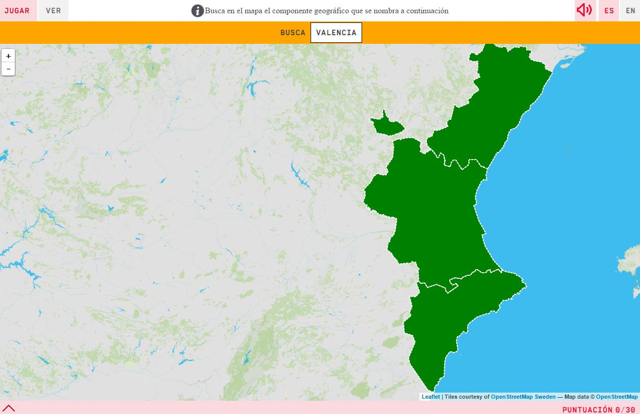 Mapa De Catalunya Provincies.Mapa Interactiu On Es Provincies De La Comunitat