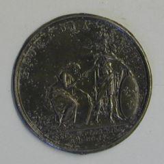 Prueba de plomo para la medalla de la toma de Ivrea