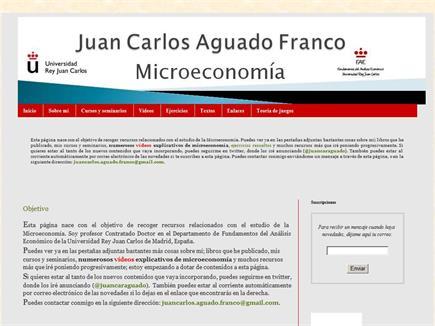 Microeconomía Juan Carlos Aguado