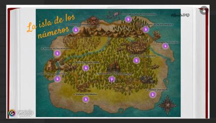 LA ISLA DE LOS NÚMEROS