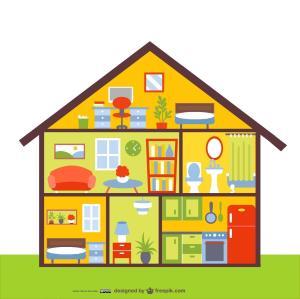 La familia- La casa