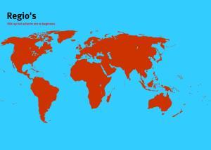 Regio's van Wereld. Topo Wereld