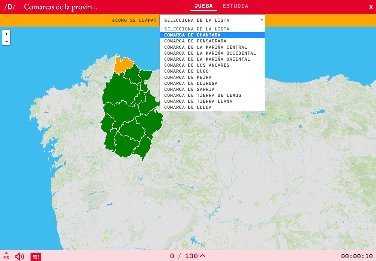 Regioni della Lugo