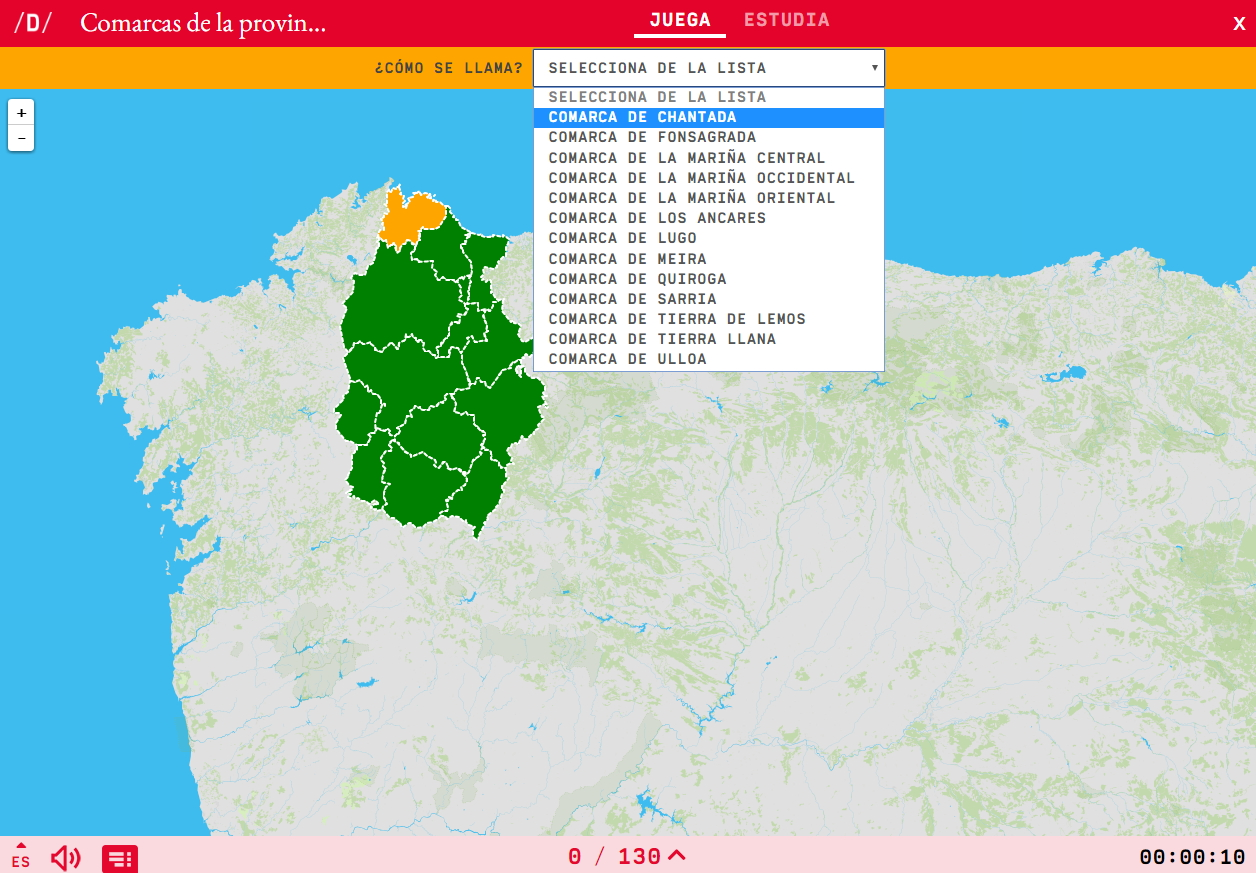Comarcas de Lugo