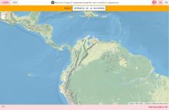 O relevo da Colômbia