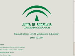Manual básico LEGO Mindstrorms Education