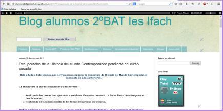 Blog alumnos 2ºBAT Ies Ifach