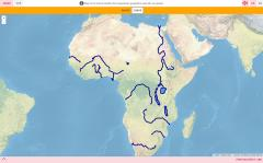 Rivers and lakes of Africa