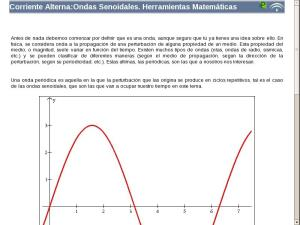 Corriente Alterna:Ondas Senoidales. Herramientas Matemáticas