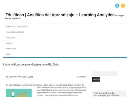 Eduliticas.com Analítica del Aprendizaje
