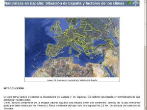 Naturaleza en España: Situación de España y factores de los climas