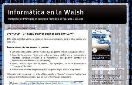 Informática en la Walsh