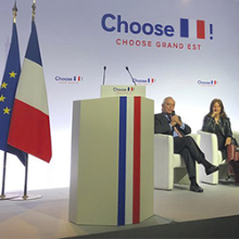 "Pedro Garnica was a speaker at the ""Choose France Grand Est"" event presided over by French president Emmanuel Macron."