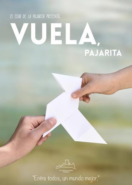 """Vuela, pajarita"""