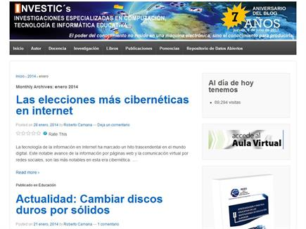 INVESTIC´S Investigaciones especializadas en computación, tecnología e informática educativa