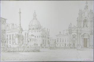 Plaza del Duomo, Catania (Italia)