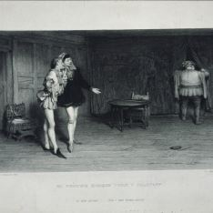 Enrique IV y Sir John Falstaff