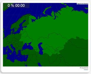 Ehem. Sowjetunion: Länder. Seterra