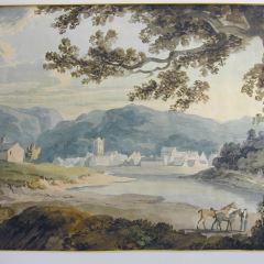 Vista de Dunkeld, Perthsire (Escocia)