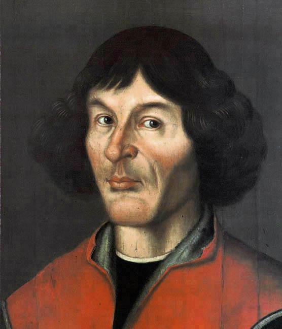 Retrato de Nicolás Copérnico, 1580, autor desconocido