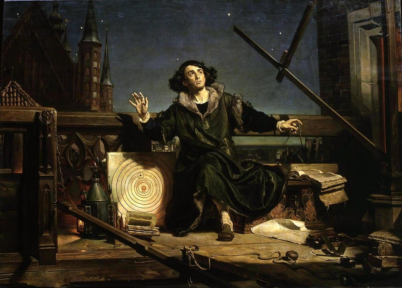 Astrónomo Copérnico, de Jan Matejko, 1873