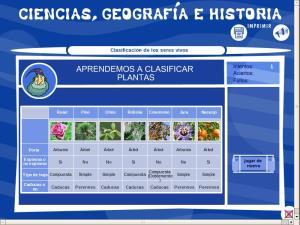 Aprendemos a clasificar plantas