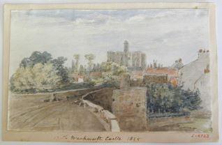 Castillo de Warkworth, Northumberland (Inglaterra)