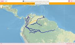 Rivers of Colombia