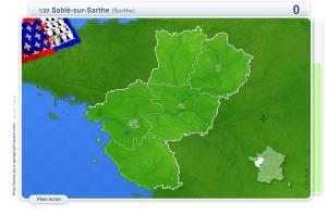 Villes des Pays de la Loire. Jeux géographiques