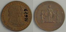 Medalla conmemorativa de la boda de Fernando VII e Isabel de Braganza