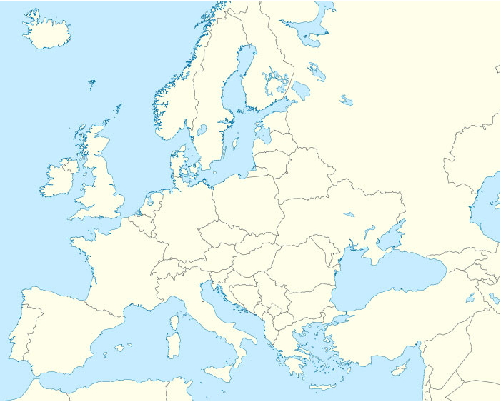 Capitals of Europe. Sporcle