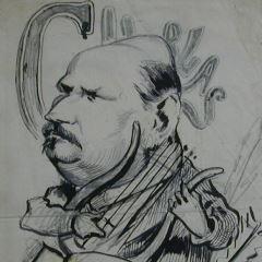 Caricatura de Manuel del Palacio