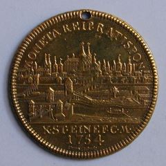 Medalla de Francisco I del Sacro Imperio Romano Germánico