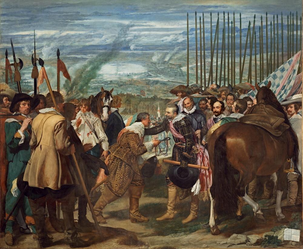 Las lanzas o La rendición de Breda, hacia 1635