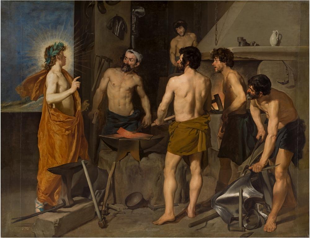 La fragua de Vulcano, 1630