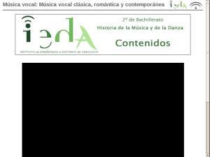 Música vocal: Música vocal clásica, romántica y contemporánea